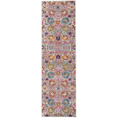 Parsons Silver Indoor Area Rug Rug Size: Runner 22 x 76