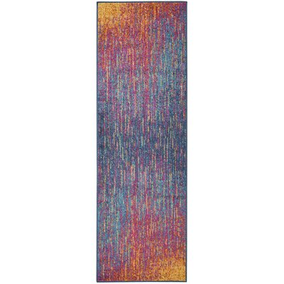Parsons Pink/Purple Indoor Area Rug Rug Size: Runner 11 x 6