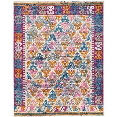 Parsons Ivory Indoor Area Rug Rug Size: Rectangle 8 x 10