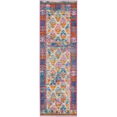 Parsons Ivory Indoor Area Rug Rug Size: Runner 11 x 6
