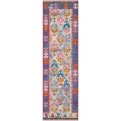 Parsons Ivory Indoor Area Rug Rug Size: Runner 22 x 76