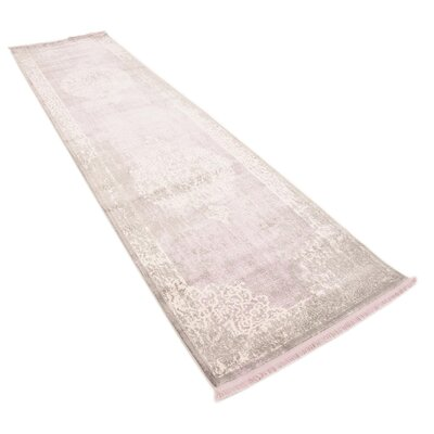 Bryant Green/Ivory Area Rug Rug Size: Runner 27 x 10