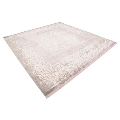 Bryant Green/Ivory Area Rug Rug Size: Square 8