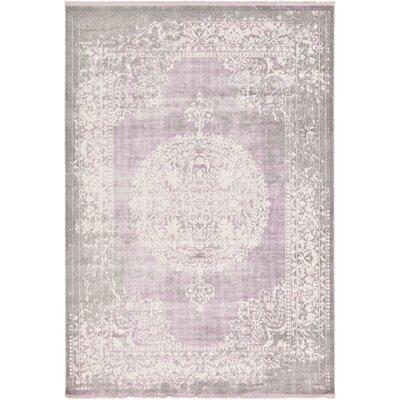 Bryant Green/Ivory Area Rug Rug Size: Rectangle 7 x 10