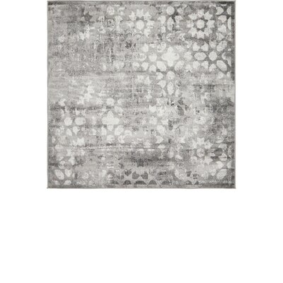 Brandt Dark Gray Area Rug Rug Size: Rectangle 5 x 8