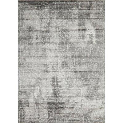 Brandt Dark Gray Area Rug Rug Size: Rectangle 7 x 10