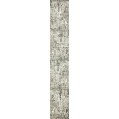 Brandt Dark Gray Area Rug Rug Size: Runner 2 x 13