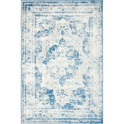 Brandt Tibetan Blue Area Rug Rug Size: Rectangle 4 x 6