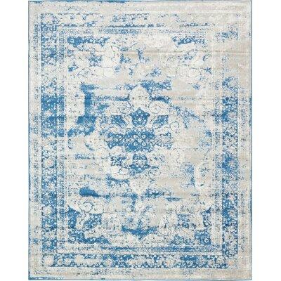 Brandt Tibetan Blue Area Rug Rug Size: Rectangle 8 x 10