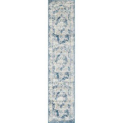 Brandt Tibetan Blue Area Rug Rug Size: Runner 2 x 91