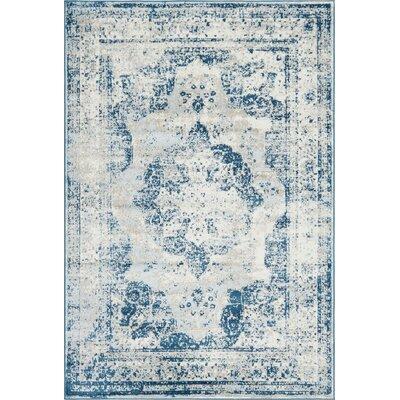 Brandt Tibetan Blue Area Rug Rug Size: Rectangle 6 x 9