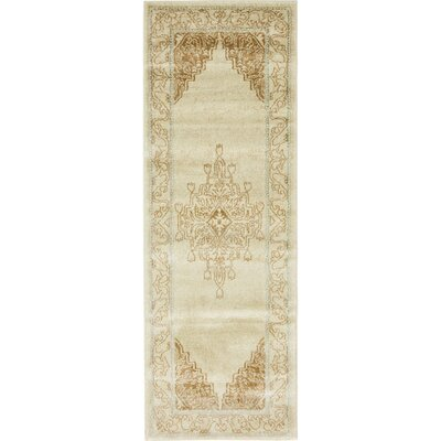 Cadencia Brown Area Rug Rug Size: Runner 27 x 10