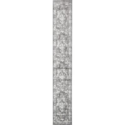 Brandt Gray Area Rug Rug Size: Runner 2 x 13