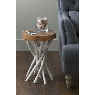 Cordova End Table Color: White
