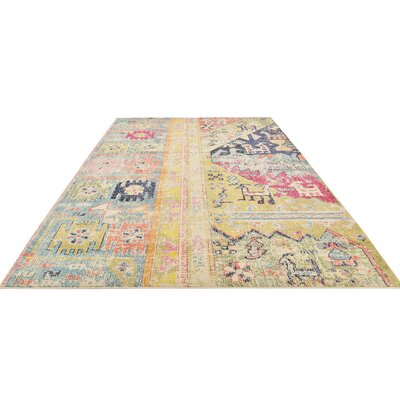 Gloucester Gold Area Rug Rug Size: Rectangle 9 x 12