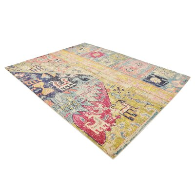 Gloucester Gold Area Rug Rug Size: Rectangle 8 x 10