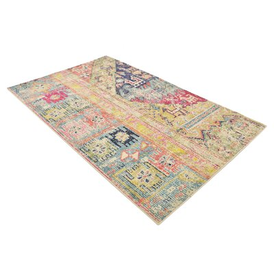Gloucester Gold Area Rug Rug Size: Rectangle 5 x 8