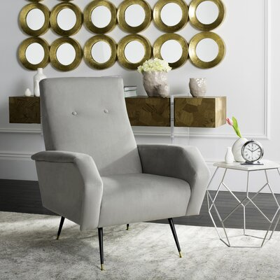 Molly Armchair Upholstery: Gray