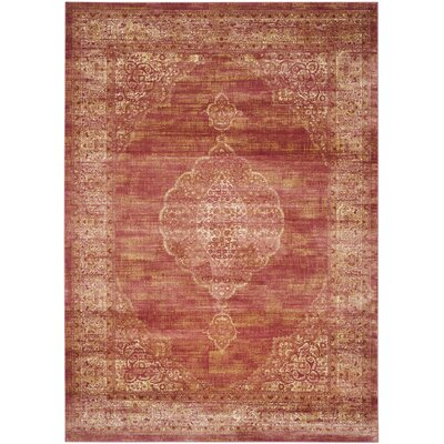 Makenna Rust Area Rug Rug Size: Rectangle 8 x 112