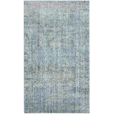 Shane Blue/Gray Area Rug Rug Size: Rectangle 3 x 5