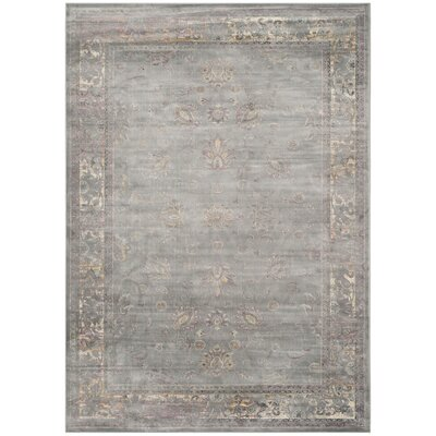 Makenna Grey/Multi Area Rug Rug Size: Rectangle 8' x 11'2