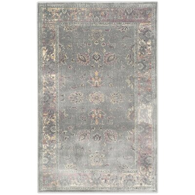 Makenna Grey/Multi Area Rug Rug Size: Rectangle 27 x 4
