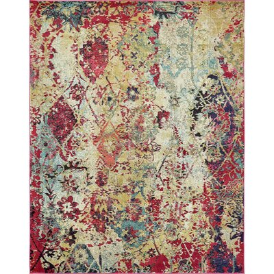 Gloucester Beige Area Rug Rug Size: Rectangle 5 x 8