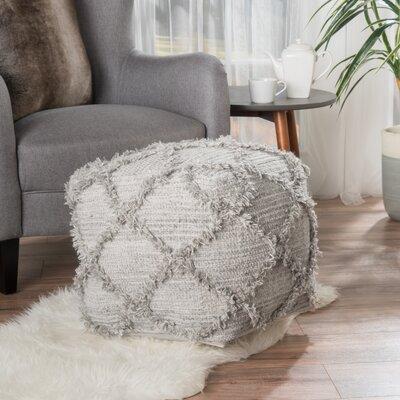 Diana Pouf Upholstery: Gray