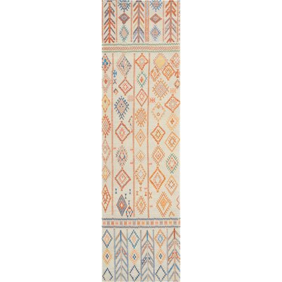 Wilkerson Ivory Area Rug Rug Size: Runner 22 x 76