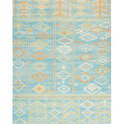 Wilkerson Sky Blue Area Rug Rug Size: Rectangle 710 x 10