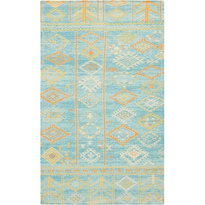 Wilkerson Sky Blue Area Rug Rug Size: Rectangle 23 x 39
