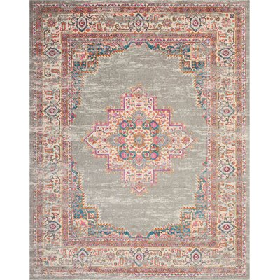 Dorset Gray Area Rug Rug Size: Rectangle 8 x 10