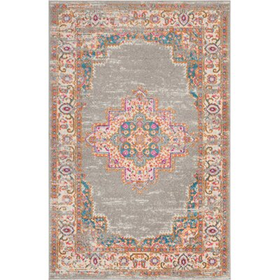 Dorset Gray Area Rug Rug Size: Rectangle 39 x 59