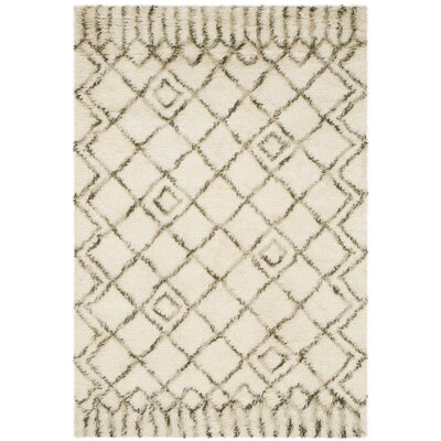 Camacho Beige/Gray Area Rug Rug Size: Rectangle 4 x 6