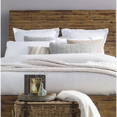 Gilman Ridge Acacia Panel Headboard Size: Queen