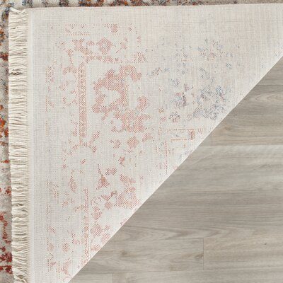 Luca Light Gray Area Rug Rug Size: Rectangle 5 x 76