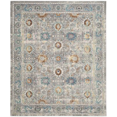 Lulu Gray/Multi Area Rug Rug Size: Rectangle 8 x 10