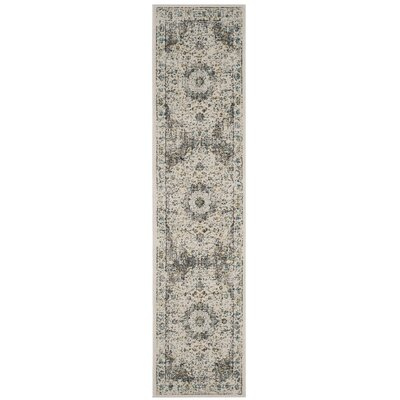 Elson Gray/Gold Area Rug Rug Size: Runner 22 x 11