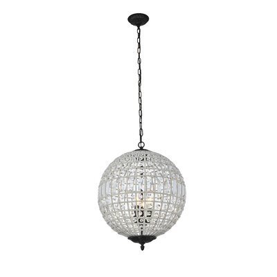 Crestview 3-Light Globe Pendant