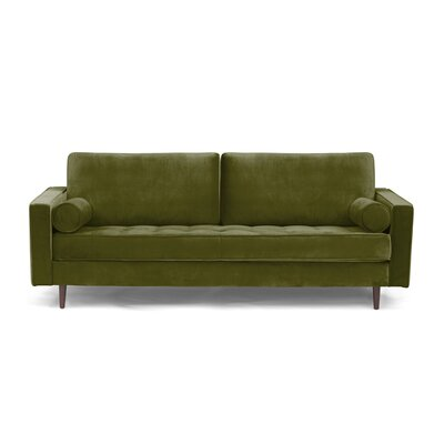 Derry Sofa Upholstery: Olive Green