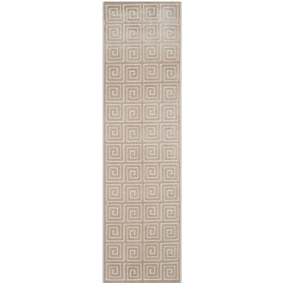Maspeth Greek Key Area Rug Rug Size: Runner 2 x 7