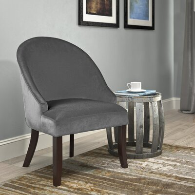 Pieter Barrel Chair Upholstery: Grey