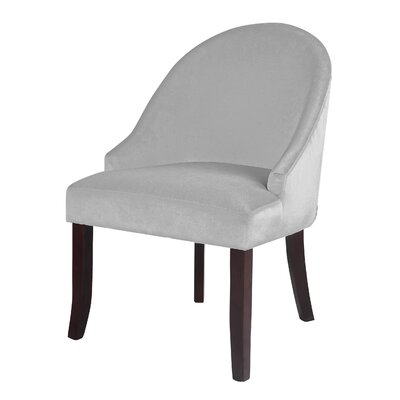 Pieter Accent Barrel Chair Color: White