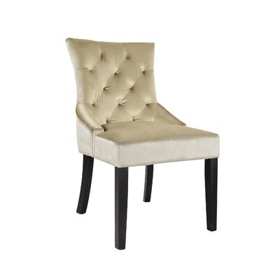 Lindsey Side Chair Upholstery: Soft Beige