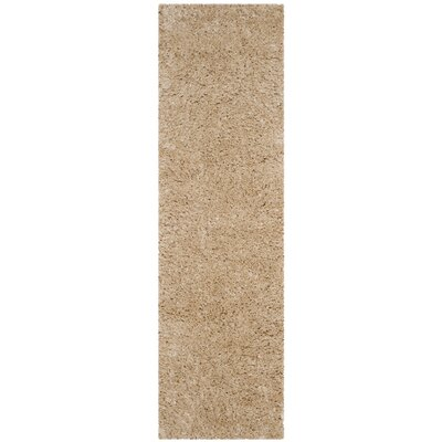 Hermina Light Beige Area Rug Rug Size: Runner 23 x 8