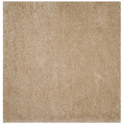 Hermina Light Beige Area Rug Rug Size: Square 67 x 67