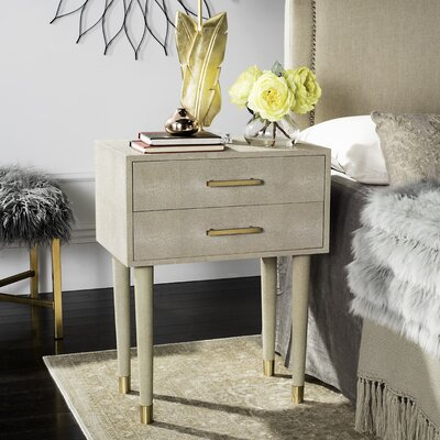 Onderdonk End Table Finish: Beige