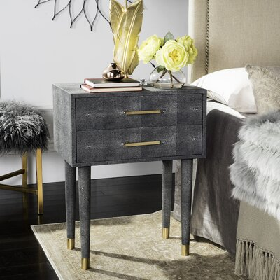 Onderdonk End Table Finish: Black