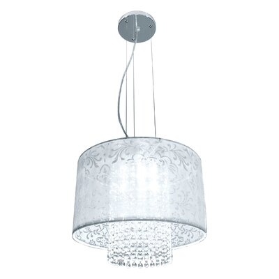 Harmon 3-Light Crystal Pendant