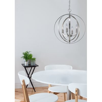 Hendry 4-Light Chandelier